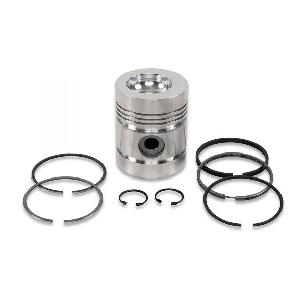 PISTON KIT ( PISTON , GUDGEON PIN, CIRCLIPS) WITH RINGS